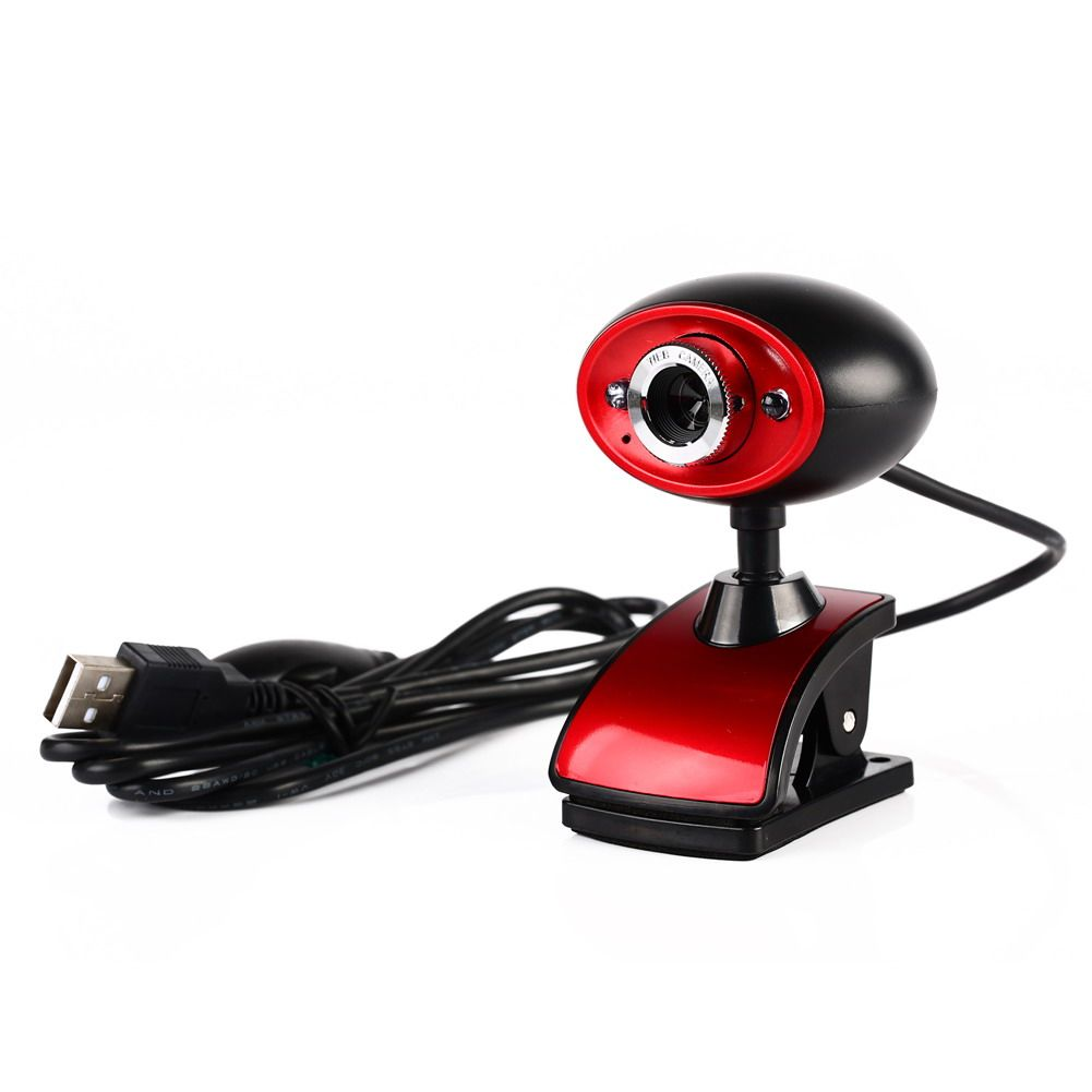 USB 2.0 16 Million Pixels HD Webcam Clip-on Web Camera With Mic Microphone for Computer PC Laptop Tablet