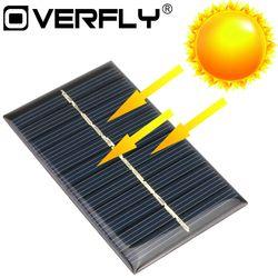 Panneau solaire 5 V 6 V 12 V Mini Système Solaire DIY Pour Batterie cellulaire Téléphone Chargeurs Portable Cellule Solaire 0.15 W 0.6 W 1 W 1.25 W 1.5 W