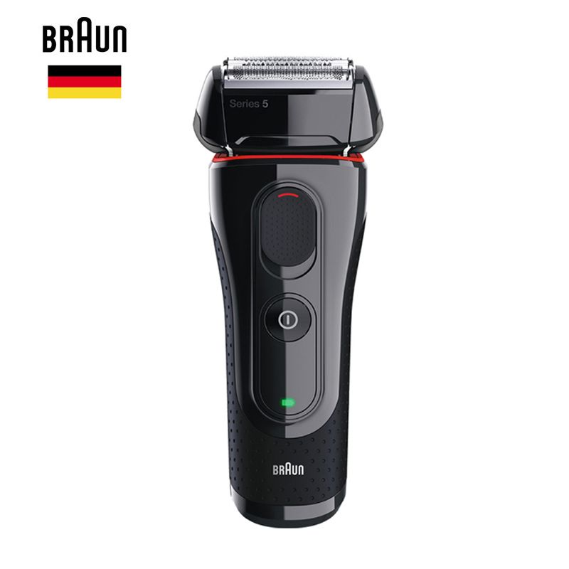 Braun Men'S Electric Foil Shaver Series 5 5030s Rechargeable Razor For Men Beard Shaving Machine Precision Trimmer 100-240v