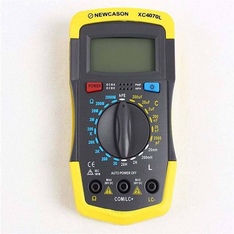 LCR, RCL Inductance, Resistance Capacitance Meter XC4070L Capacitor Tester Meter Resistance And Inductance Tester