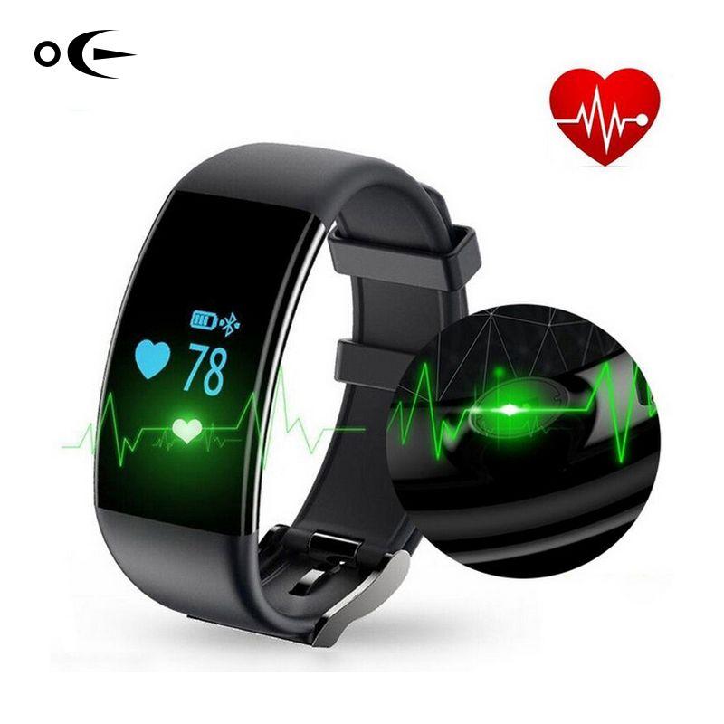 Bluetooth Sport Smart Uhr Armband IP67 Wasserdichte Smartwatch Pulsmesser Smart Armband für Android iphone
