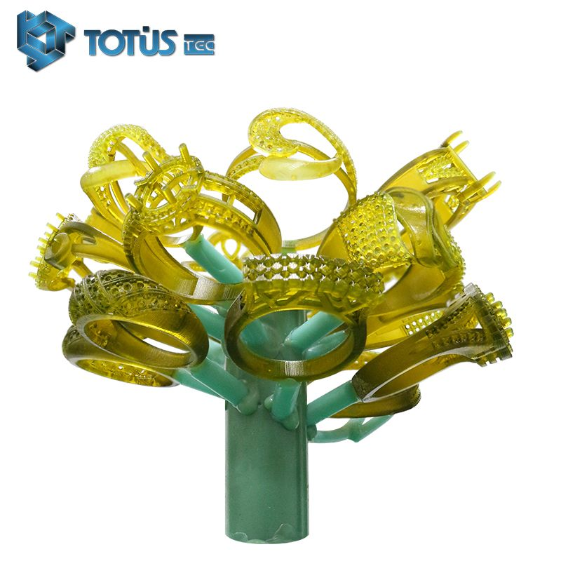 3D Printing Machine Wax Resin Directly Extremly Easy Casting Photosensitive UV Resin For Jewelry, Dental, Toy Industry In China