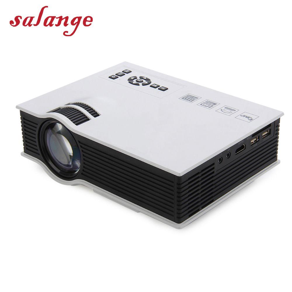 UC40 UC46 Plus LED Mini Projector Full HD 1080P 800 lumen Home Theater Beamer Proyector with HDMI AV SD VGA