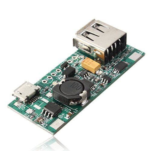 3,7 V Li-Ion Akku Mini USB auf usb Gelten Modul 5 V 1A Lademodul
