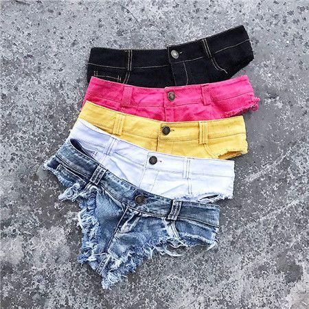 1-6 number Meileiya 2018 Women's hot Sexy Jeans Skinny Denim Mini Shorts BM60895 180531 chun