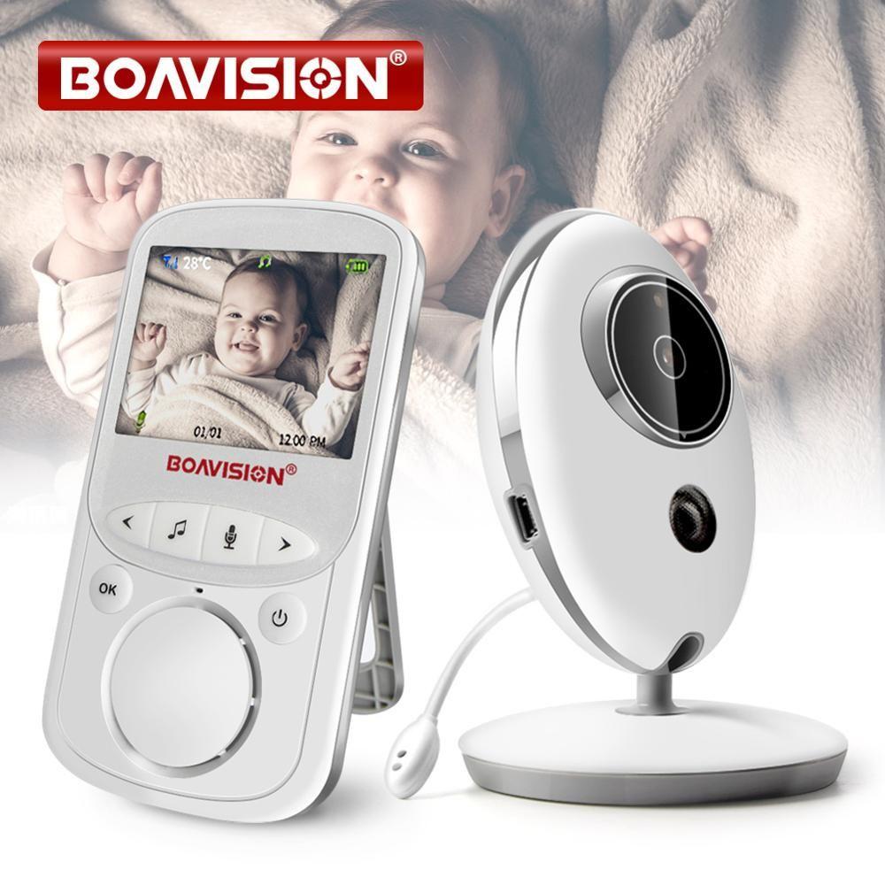 Sans fil LCD Audio vidéo bébé moniteur VB605 Radio nounou musique interphone IR 24h Portable bébé caméra bébé talkie-walkie Babysitter