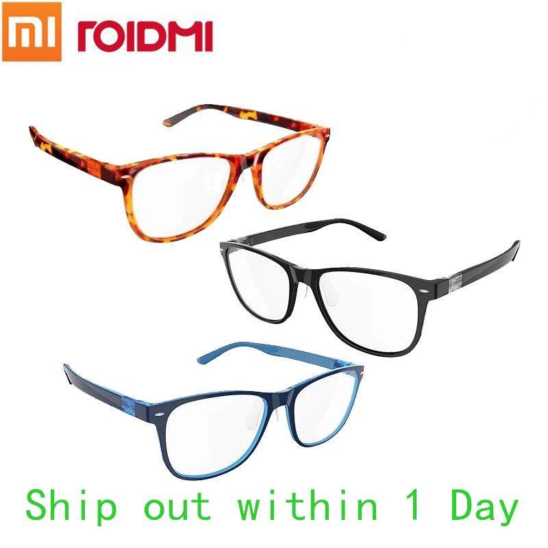 (Niedrigsten preis) Original Xiaomi B1 ROIDMI Abnehmbare Anti-blau-rays Schutzglas Schutzbrille Für Mann frau Spielen Telefon/PC