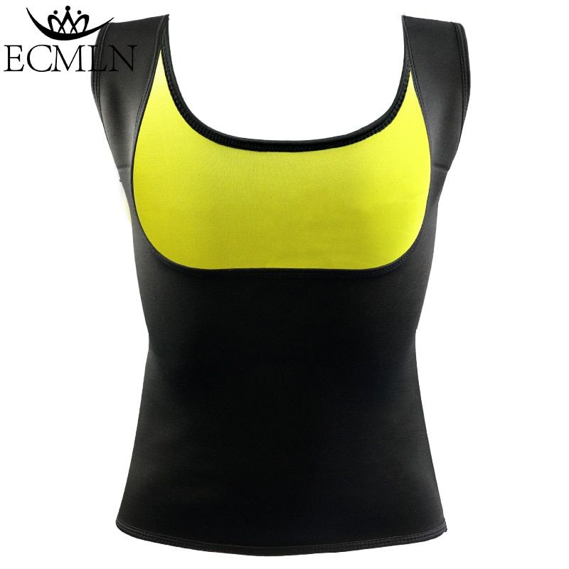 Plus Size Neoprene Sweat Sauna Hot Body Shapers Vest Waist Trainer Slimming Vest Shaperwear Weight Loss Waist Corset drop ship