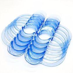 10 Pcs Bleu C-Forme Intra-orale Poitrine Rétracteurs À Lèvres Bouche Ouvre Outils Dentaires En Stock Bateau Rapide