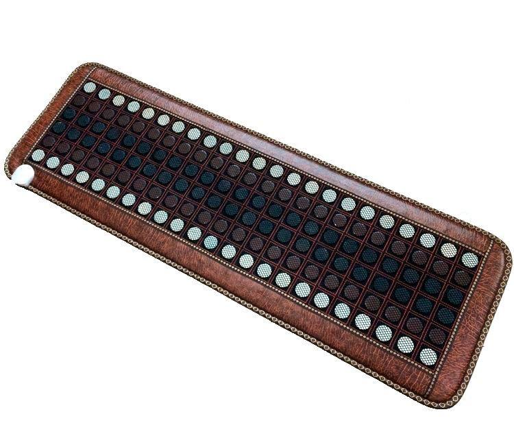 2016 Health Tourmaline Infrared Jade Heating Massage Sofa Cushion Mixed 2 colors stone Heating Mattress 50*150CM