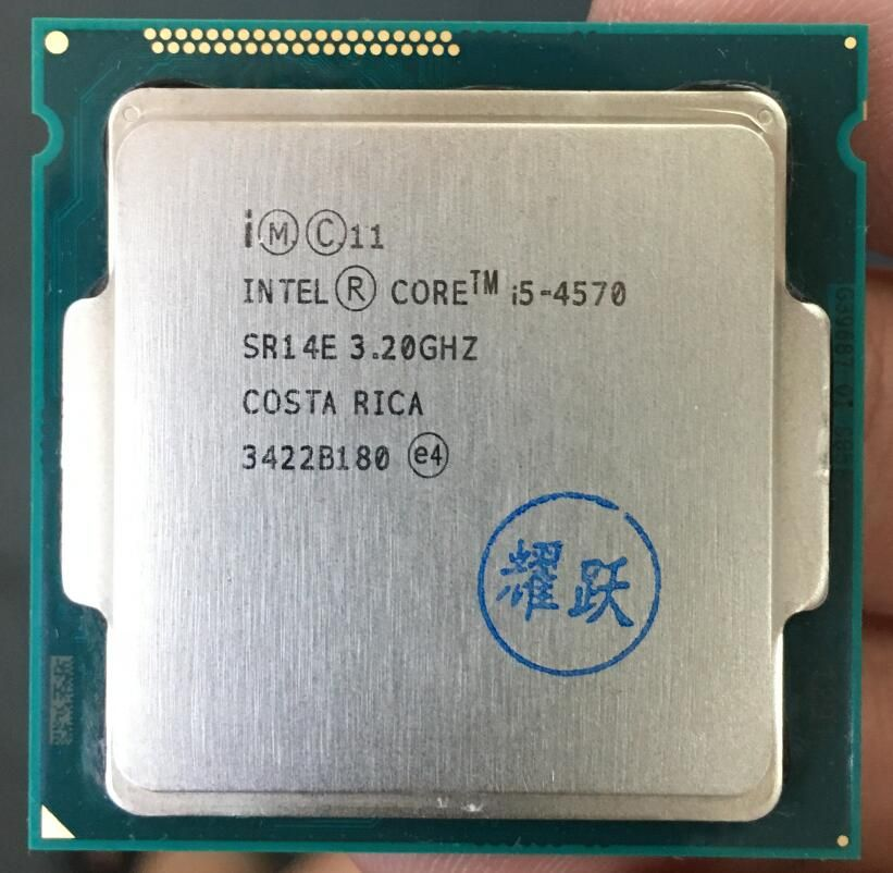 Intel Core i5-4570 i5 4570 Prozessor Quad-Core LGA1150 Desktop CPU 100% ordnungsgemäß funktioniert Desktop-prozessor