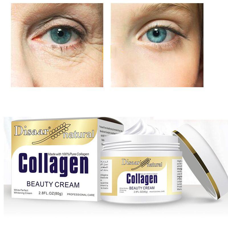 Disaar collagène puissance crème de levage 80g crème visage soins de la peau blanchissant hydratant Anti-âge Anti-rides crème faciale coréenne
