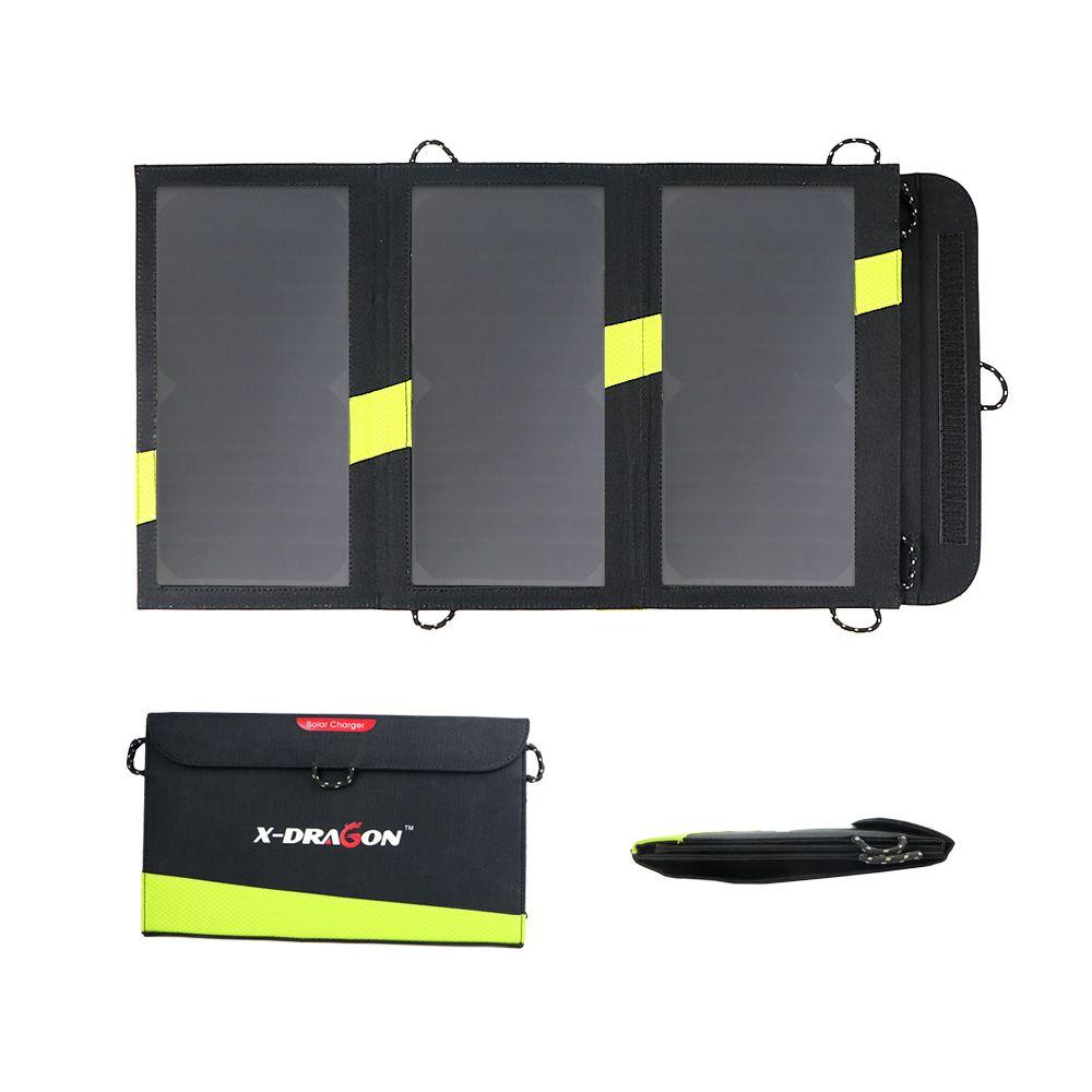 20 W 5 V chargeur de téléphone solaire double USB sortie panneau solaire Portable pour iPhone Samsung Xiaomi Huawei Smartphones