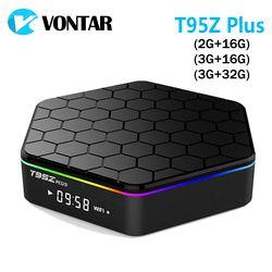 VONTAR T95Z Plus Smart Android TV BOX 7.1 OS Set top box 2GB 16GB 3GB 32GB Amlogic S912 Octa Core 2.4G/5GHz WiFi BT4.0 4K