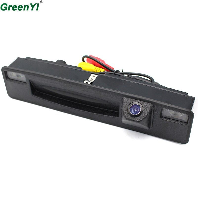 GreenYi Car Rear View Reverse Camera For 2015 2016 2017 Ford Focus Trunk Hand Switch Camera Night Vision Waterproof Wide Angle
