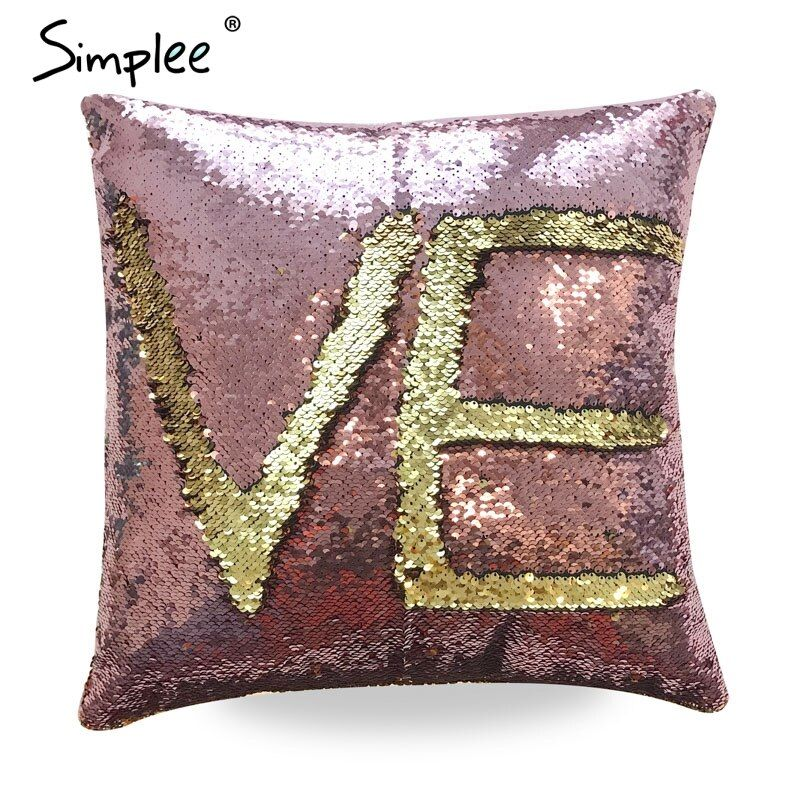 Simplee Glitter reversible sequin fine accessories Leather suede fashion white accessories Double color patchwork accessories