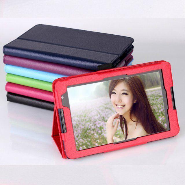 Tablet PU housse En Cuir pour lenovo A5500 Tab ideatab A8 7-Color Livraison Gratuite