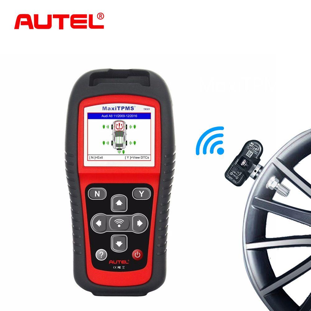 Autel tpms systeme tire pressure monitoring system aktivieren und Diagnose Werkzeug TS501 TPMS sensor diagnose und Programm werkzeug