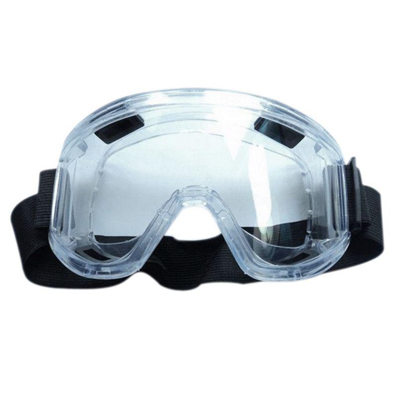 PC Objektiv Schutzbrille Spritzwassergeschützt Augen Sicherheit Arbeit brille Entlüftungsventil Markante Beständig Midoni Weiß