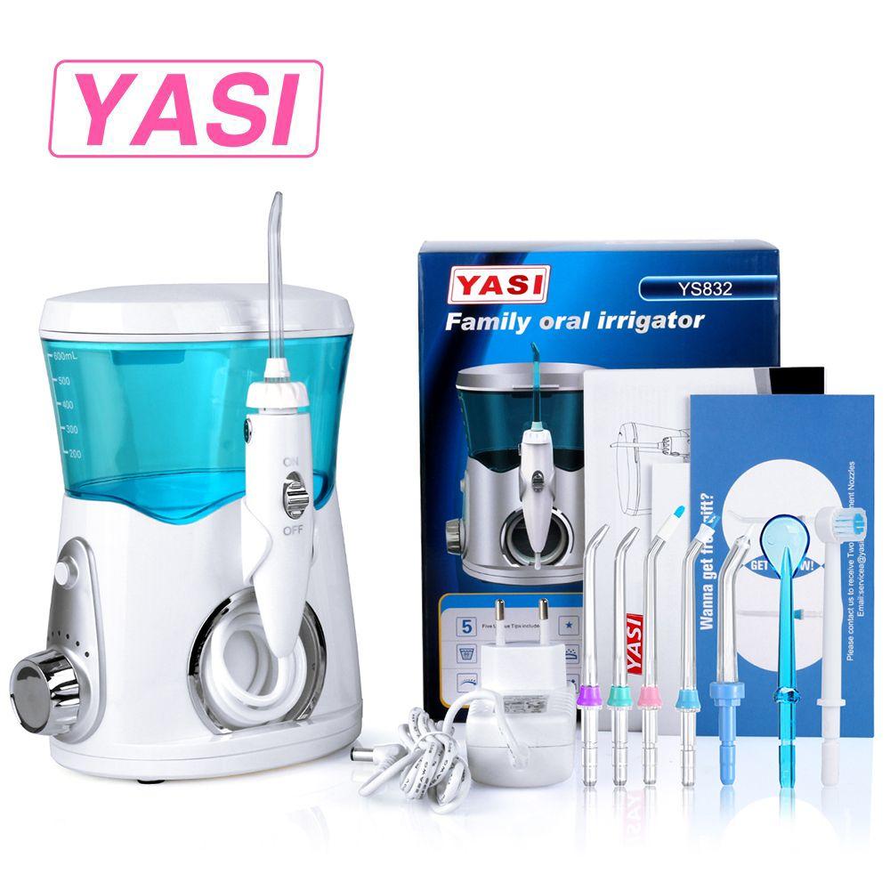 2018 New YASI 832 Dental Flosser Oral Irrigator Water Flosser Portable Irrigator Dental Floss Water Floss Pick Dental