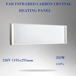 300x1200mm SC-350w wall ceil mounted stand Carbon fiber heating-white PET surface-enjoywarm