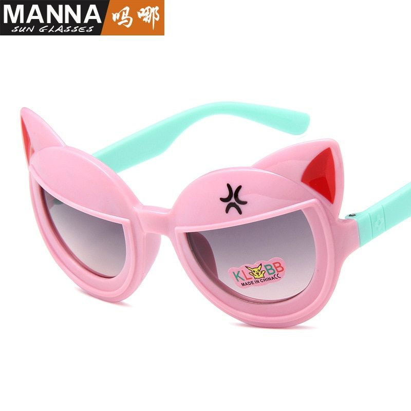 2018 New fashion children Sunglasses cartoon modelling lovely children eyeglasses 239