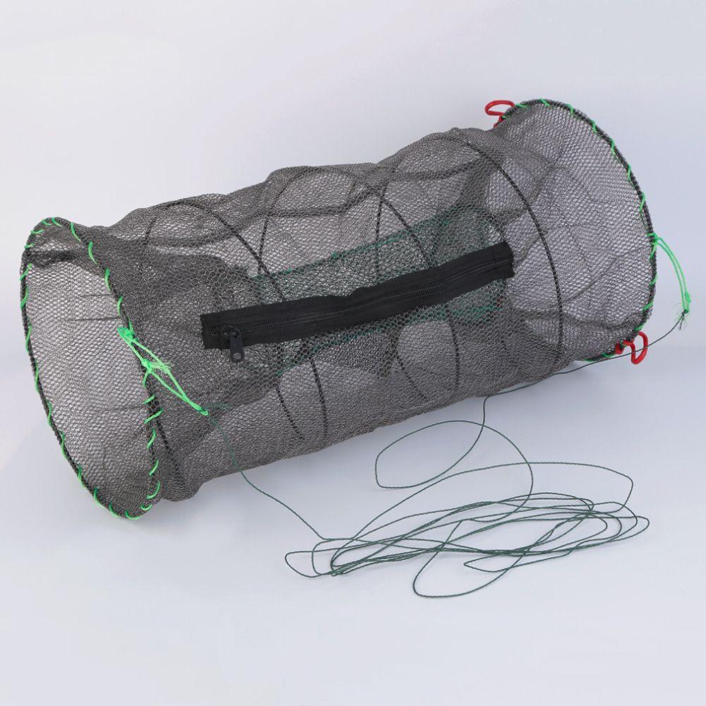 2017 Crab Crayfish Lobster Catcher Pot Trap Fish Net Eel Prawn Shrimp Live Bait free shipping