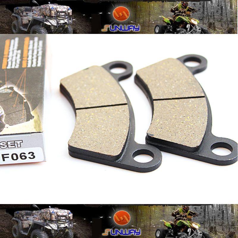 SUNWAY ATV Parts Motorcycle Rear Brake Pads for ATVs BUYANG FA-D300 H300 H400 DS450 Free Shipping
