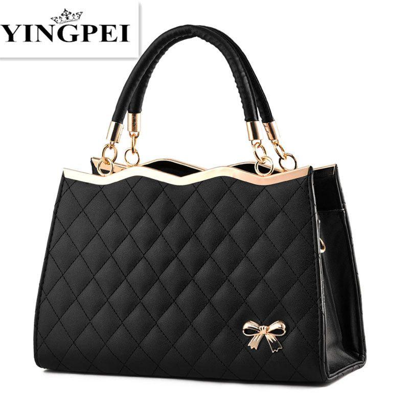 YINGPEI femmes Messenger sacs décontracté fourre-tout Femme Top-Handl luxe sacs à main femmes sac Designer haute qualité sacs à bandoulière