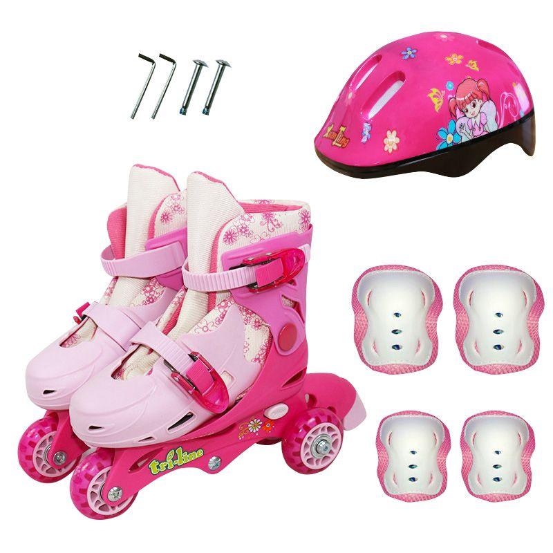 Kinder 3 Räder Auf-linie Eis Skates Rollschuhe Skating Schuhe Mappable Einstellbare Waschbar Kinder Rollschuh roller schuhe