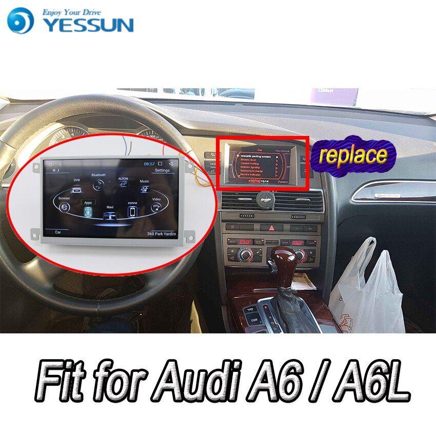 Für Audi A6 A6L 2005 ~ 2011 Auto Android Media Player System Autoradio Radio Stereo GPS Navigation Multimedia Audio Video