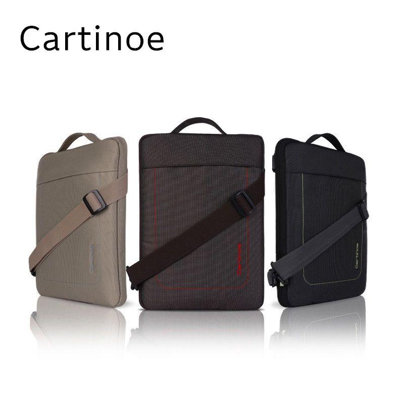 2018 Hot Marque Cartinoe Nylon Messenger Sac À Main Cas Pour Macbook Air, Pro 11