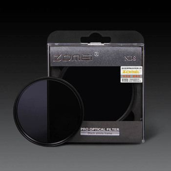 ZOMEI 52/55/58/62/67/72/77/82 ND Filter Neutral Density ND2 ND4 ND8 for Canon Nikon Olympus Sony Sigma Hoya Camera Lens