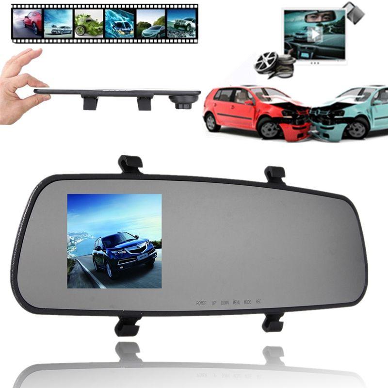 2.4 Inch 720P HD TFT Car DVR Vehicle Camera Lens Video Recorder Dash Cam G-sensor Night Vision Parking Video Recorder