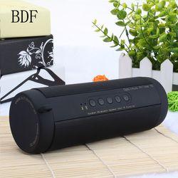 (Ohne Box) BDF T2 Mini Tragbare Wireless Spalte Empfänger Im Freien Wasserdichte Super Bass Bluetooth Lautsprecher für alle handy