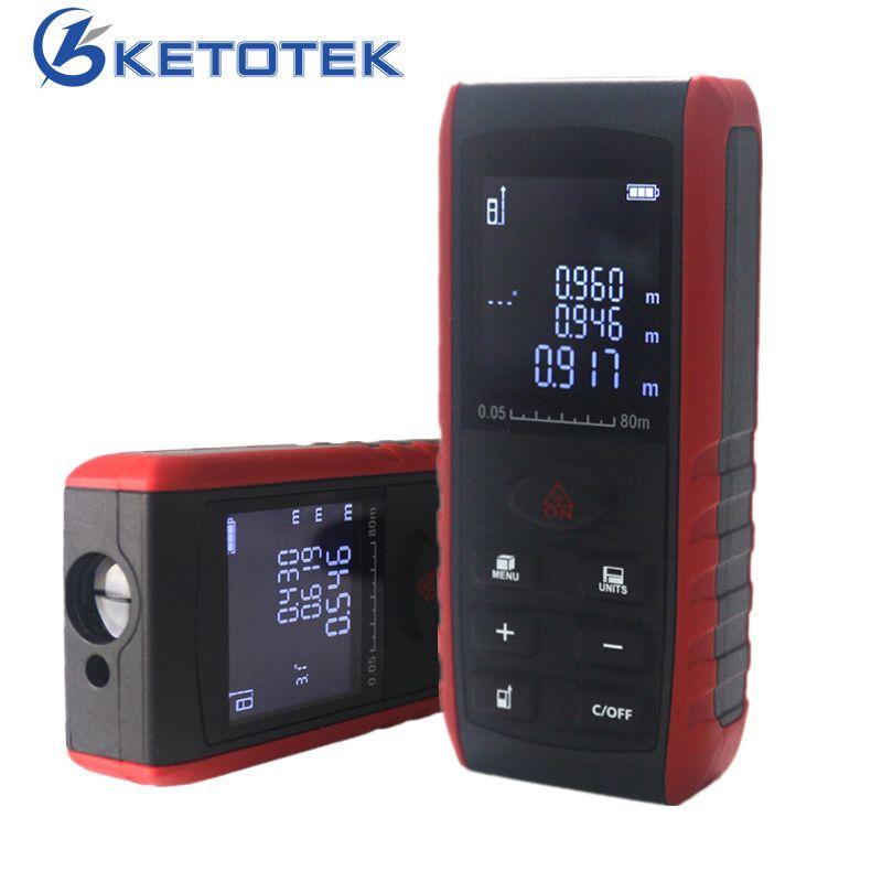 Télémètre Laser portatif télémètre Laser numérique indicateur de Volume de zone indicateur d'angle 40 m 60 m 80 m 100 m