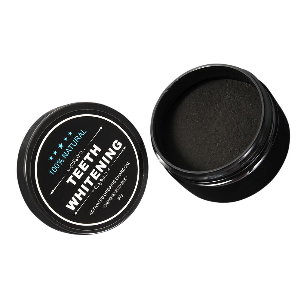 30g Teeth Whitening Powder Smoke Coffee Tea Stain Remove Bamboo Activated Charcoal Powder Oral Hygiene Dental Tooth Care YF2017