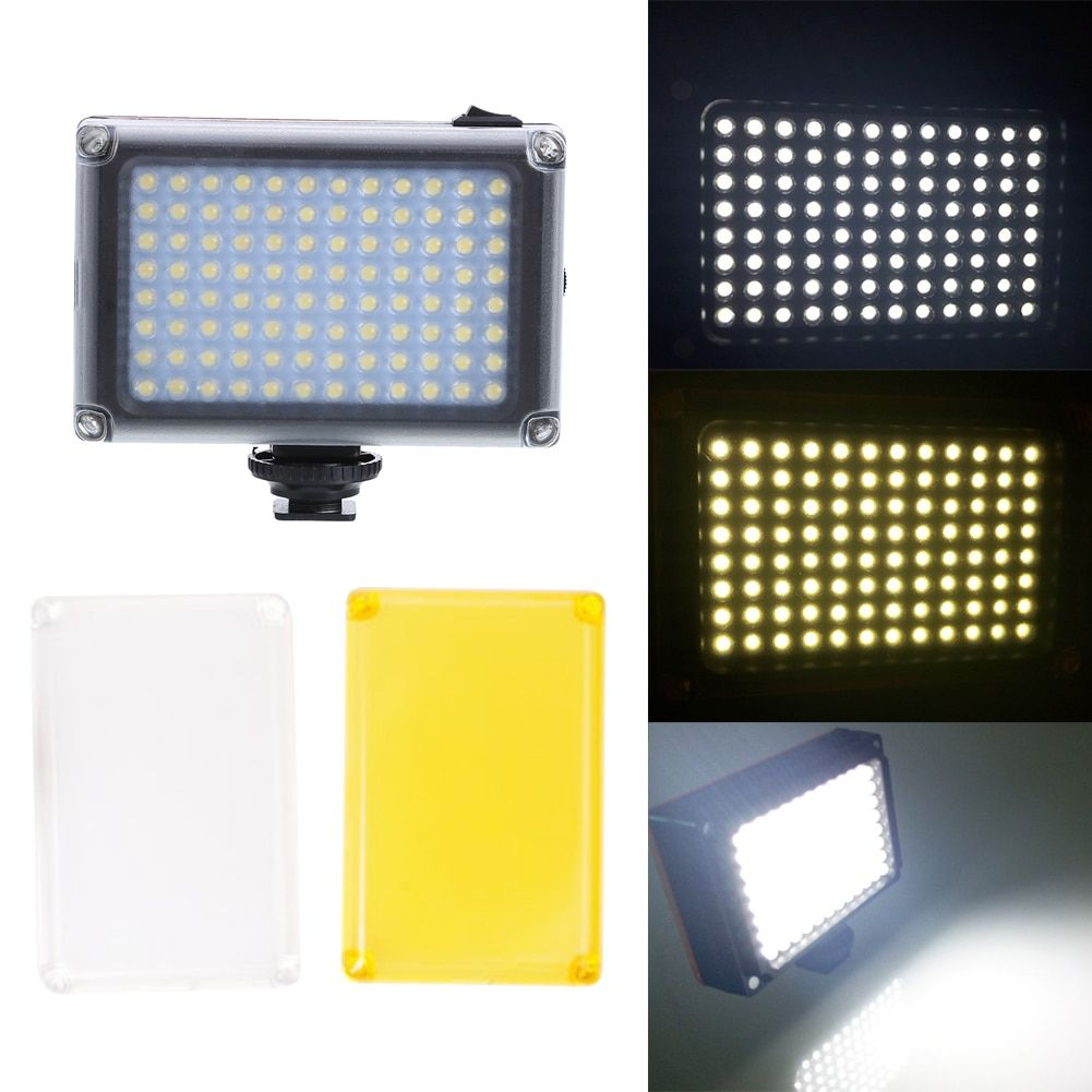 Mini Professional LED video light fill light film television interview wedding light 96 Photographic Lamp for Camera Shoot
