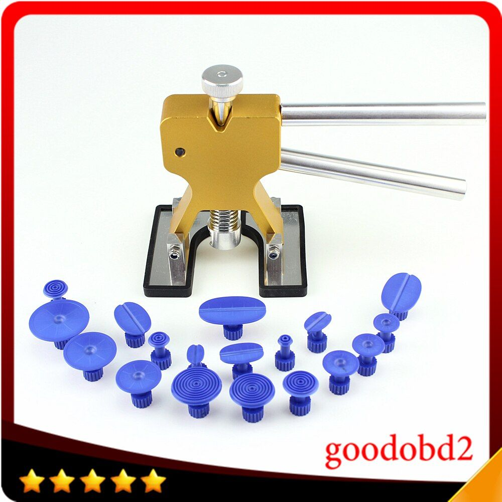 Car PDR Tools Dent Removal Paintless Dent Repair Tools PDR Dent Puller Glue Tabs Suction Cup Hand Tool Herramentas 18pc Glue Tab