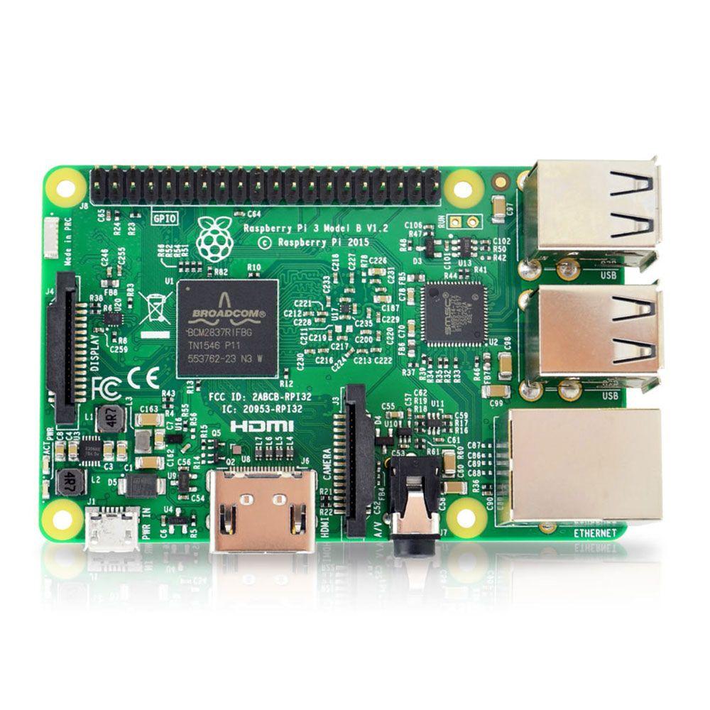 D'origine l'etat element14 raspberry pi 3 modèle b/raspberry pi/framboise/pi3 b/pi 3/pi 3b avec wifi & bluetooth