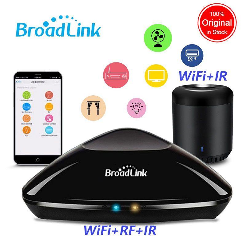 Broadlink RM Pro 2018 Nouvelle Version RM33 RM Mini3 IR + RF + WiFi Maison Intelligente Universelle Intelligente À Distance Contrôleur pour Ios Android