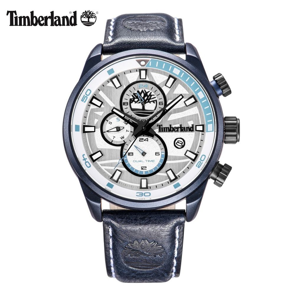 Timberland Watches For Men Quartz Leather Buckle Calendar Luxury Brand Multi-function Casual 50M Waterproof Watches T14816