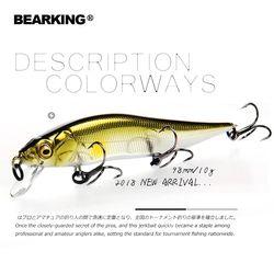Розничная продажа A + рыболовные приманки, разные цвета, гольян Кривошип 98 мм 10 г, вольфрамовая весовая система. Bearking 2018 воблер модель кривоши...