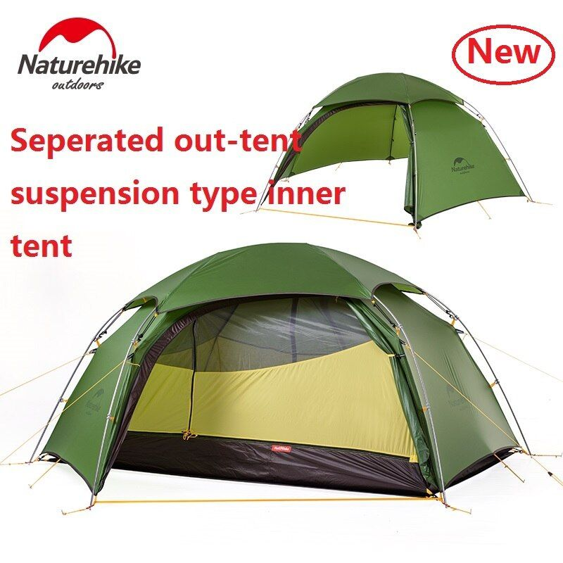 DHL freies Naturehike Wolke spitzen 2 hexagonal ultraleicht zelt 2 person outdoor camping wandern 4 Saison Doppelschicht Winddicht Zelt