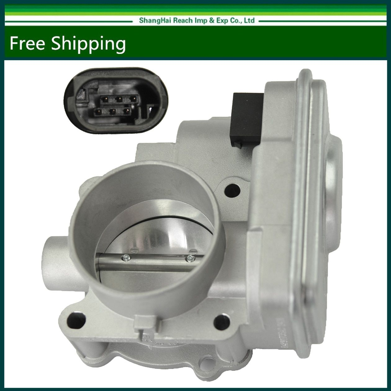 e2c Throttle Body For Dodge Jeep Chrysler 1.8L 2.0L 2.4L Compass Caliber OE#:4891735AC,4891735AB, 4891735AA, 4891735