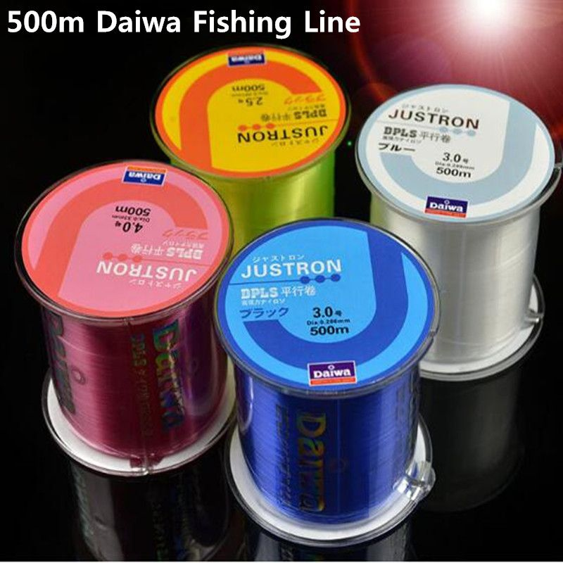 Z60 Fishing Line Japan Durable Monofilament Rock Sea 500m Nylon Fishing Line Daiwa Series Thread Bulk Spool All Size 0.4 to 8.0
