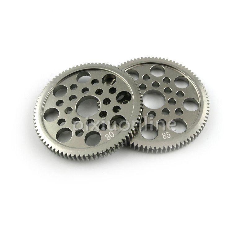 1 stück J167 80/85 T Delicate Aluminiumlegierung Getriebe 0,5 modul für DIY Modell Machen Kostenloser Versand Russland