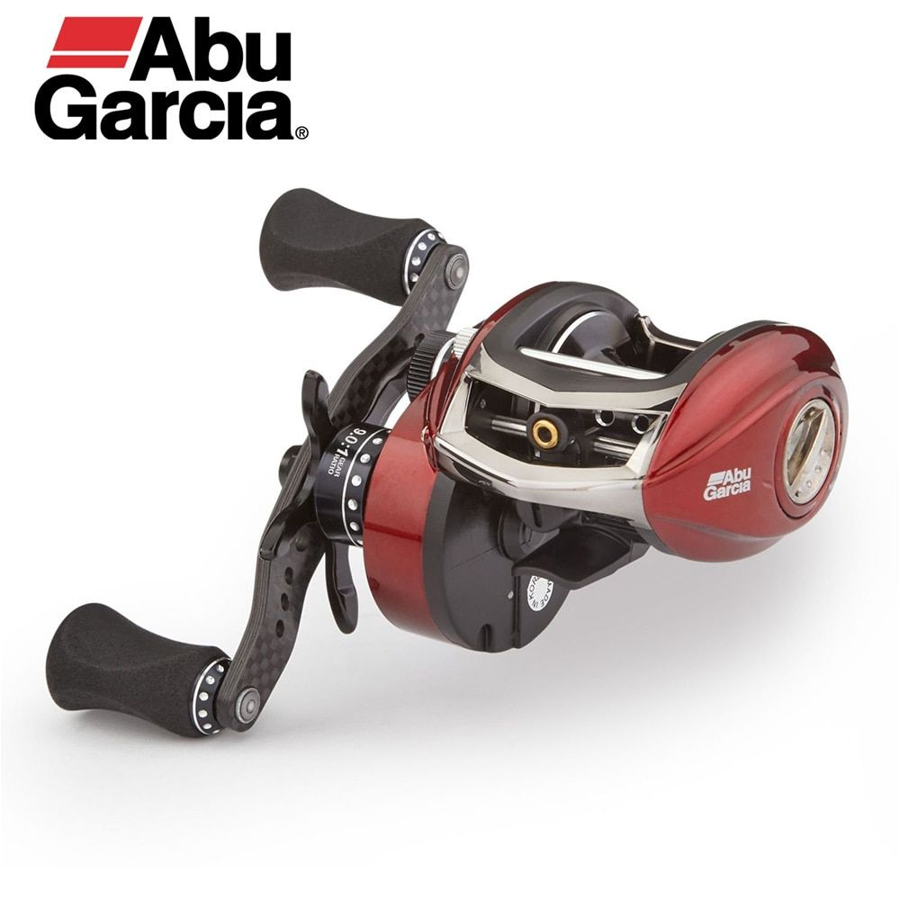 Abu Garcia REVO ROCKET III Low Profile Baitcaster Carbon Matrix Drag System Smooth Consistent 9.0:1 Gear Ratio Cast Fishing Reel