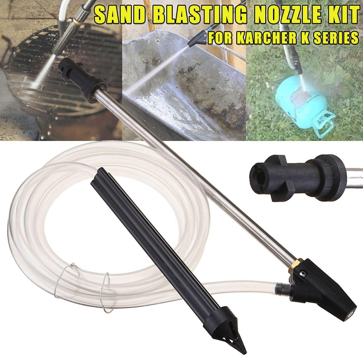Portable Sand Blaster Wet Blasting Washer Sandblasting Kit For Karcher K Series High Pressure Cleaner