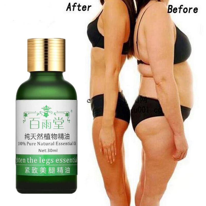 Minceur perdre du poids huiles essentielles mince jambe taille graisse brûlant pur naturel perte de poids produits beauté corps minceur crèmes